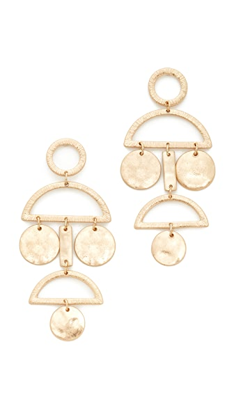 Shashi Alicica Earrings - Gold