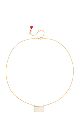 Shashi Rectangle Necklace