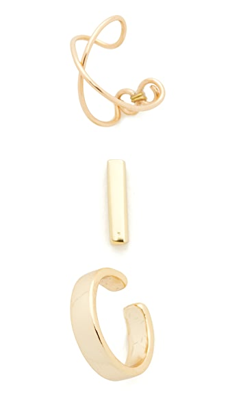 Shashi Jen Earring Set In Gold