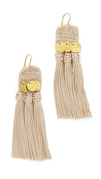 Shashi River Earrings - Gold