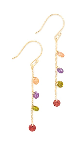 Shashi Millie Earrings - Gold/Multi