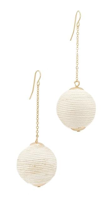 Shashi Matilda Chain Drop Earrings