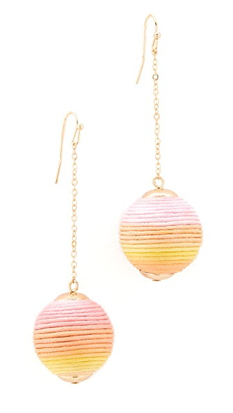 Shashi Jolene Chain Drop Earrings