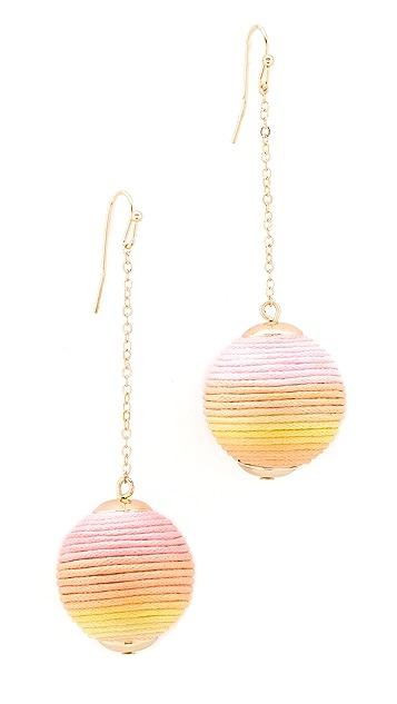 Shashi Jolene Chain Drop Earrings