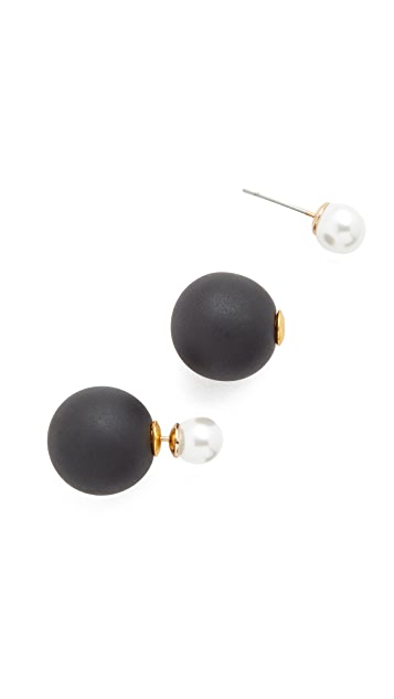 Shashi Double Ball Earrings