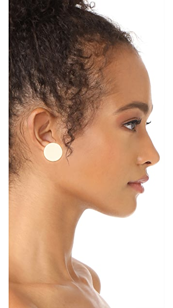 Shashi Disc Earrings