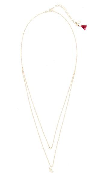 Shashi Luna Necklace