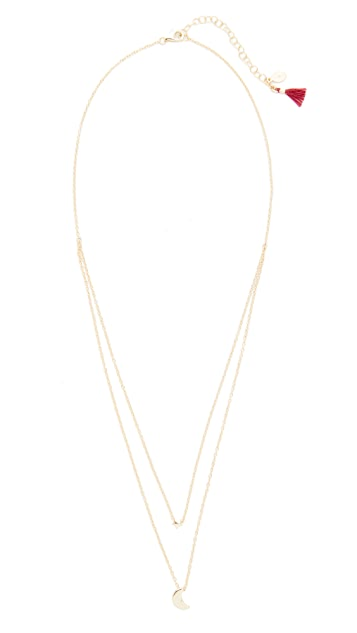 Shashi Luna Necklace