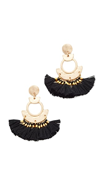 Shashi April Tassel Earrings