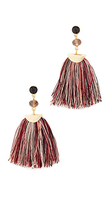 Shashi Mia Tassel Fan Earring