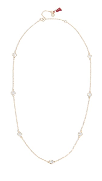 Shashi Necklace by the Yard In Yellow Gold