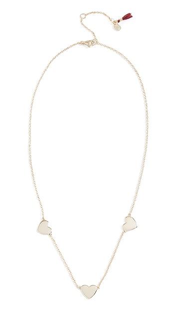 Shashi Multi Heart Necklace