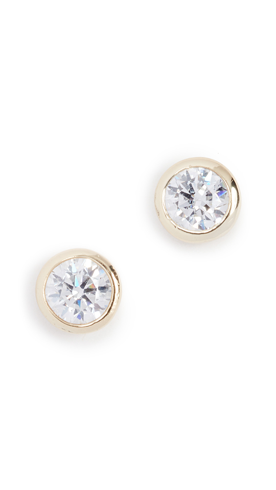 Shashi Solitaire Stud Earrings