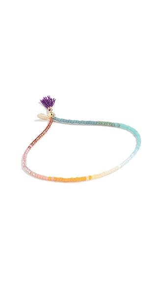 Shashi Lily Bracelet In Purple