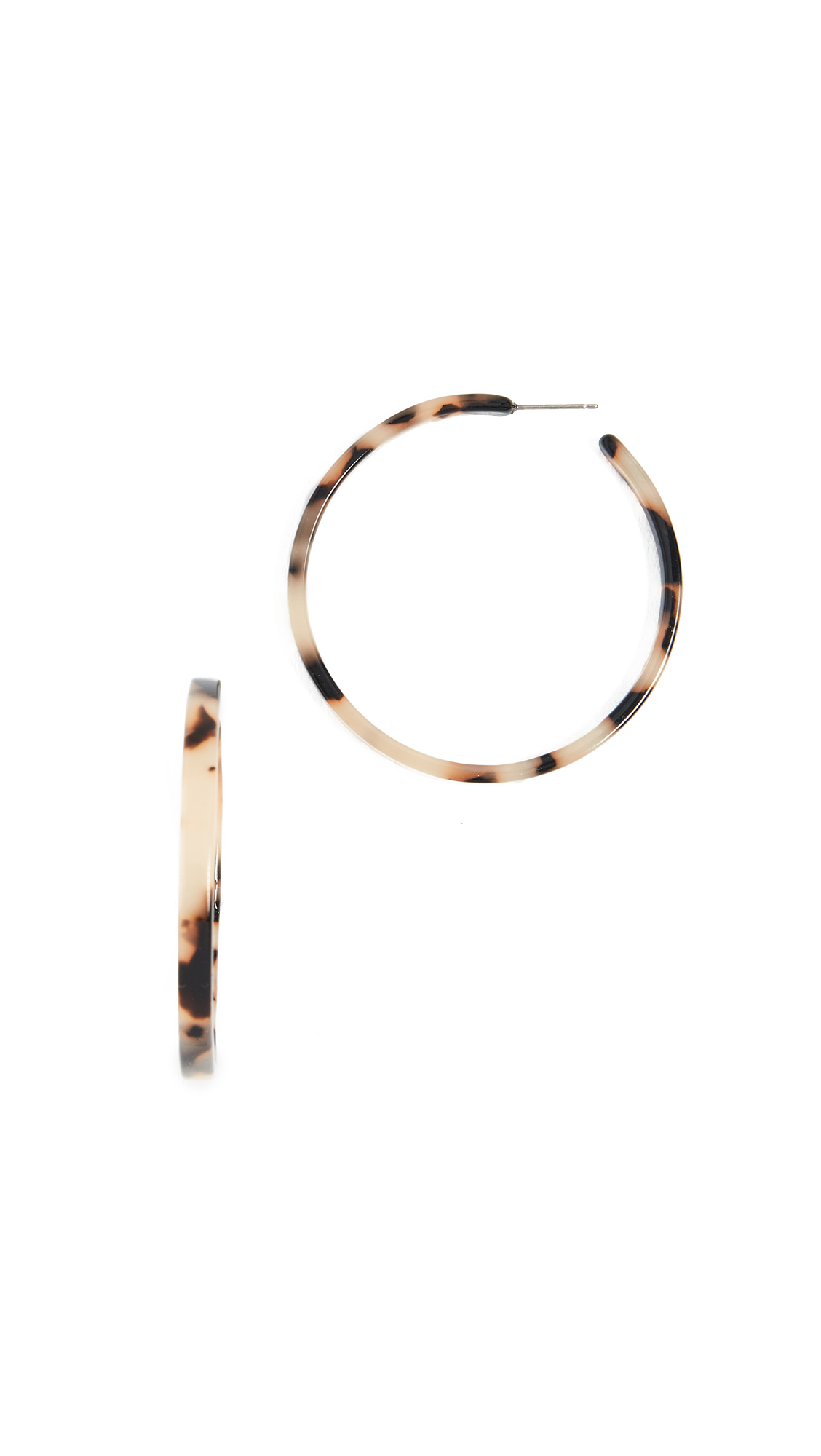 x blush tortoise shop machete hoops garmentory earrings sale margot