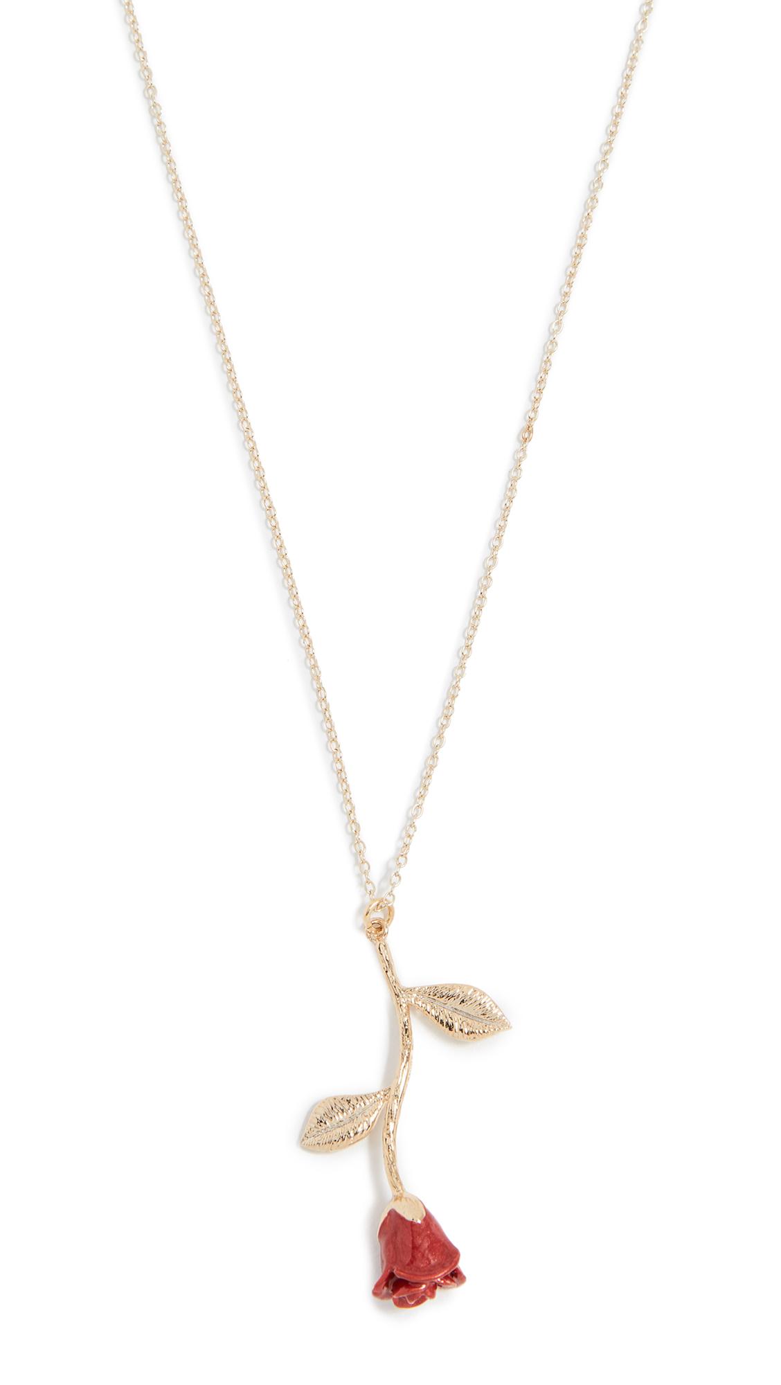 Shashi Rose Necklace