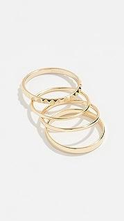 Shashi Maverick Ring Set