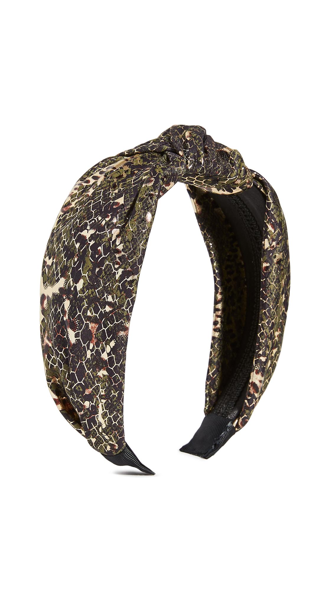 Shashi Electric Jungle Headband In Multi