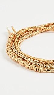 SHASHI Golden Globes Bracelet