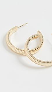SHASHI Elite Hoop Earrings