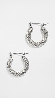 SHASHI Shantel 圈式耳环