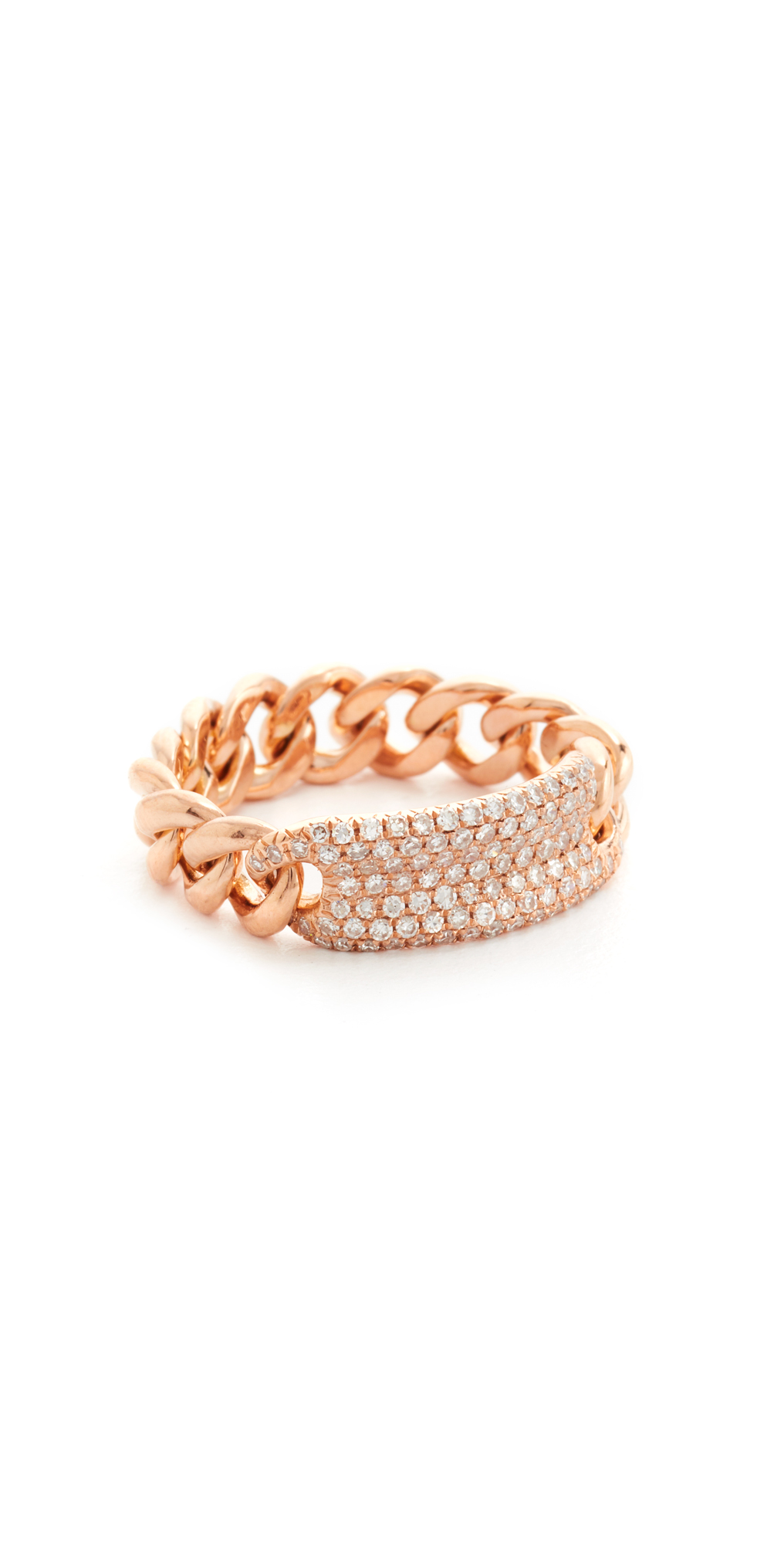 14k Gold Essential ID Link Ring Shay
