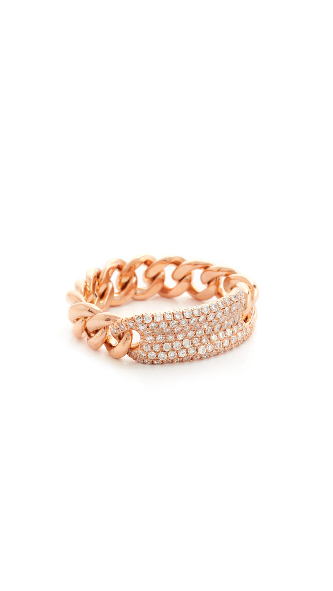Shay 18k Gold Essential ID Link Ring 6s1q7iN