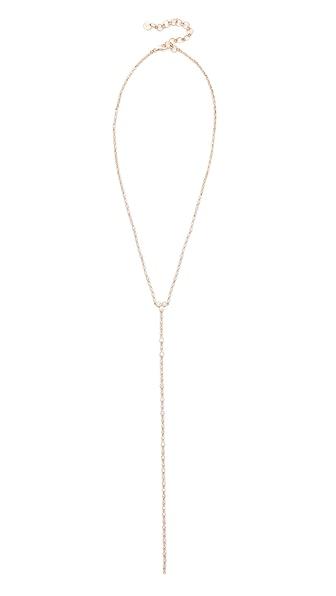 Shay 18k Gold Diamond Infinity Y Necklace