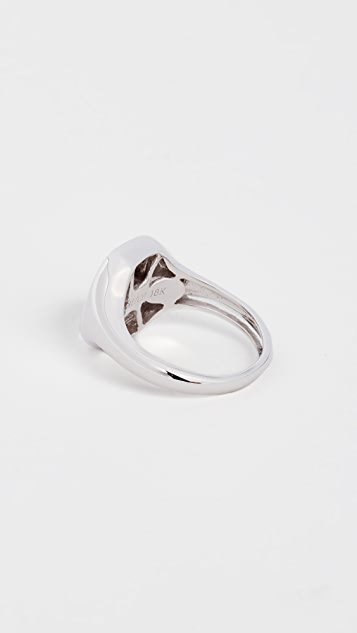 Shay 18k Gold Essential Diamond Pinky Ring