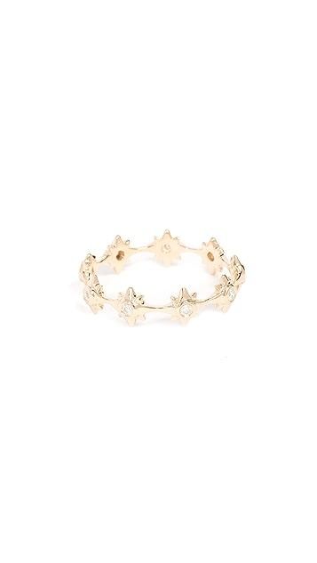 Shay 18k Gold Starburst Eternity Ring