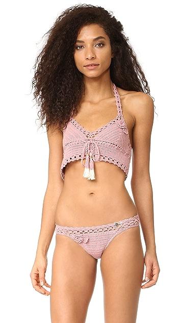 She Made Me Jannah Cheeky Crochet Bikini Bottoms