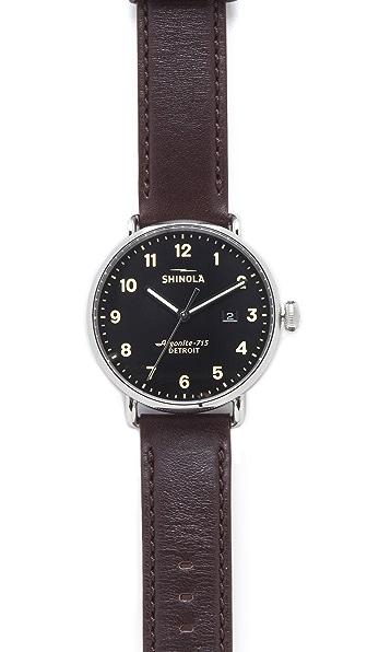 Shinola The Canfield 43mm Watch