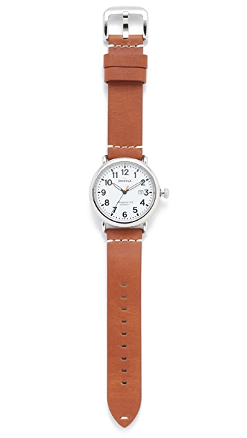 Shinola The Runwell 41mm Watch with Date Window