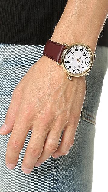 Shinola The Runwell 47mm Watch with Date Window