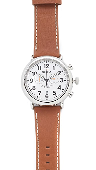 Shinola The Runwell Chronograph 47mm Watch