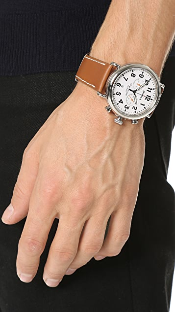 Shinola The Runwell Chronograph 47mm Watch