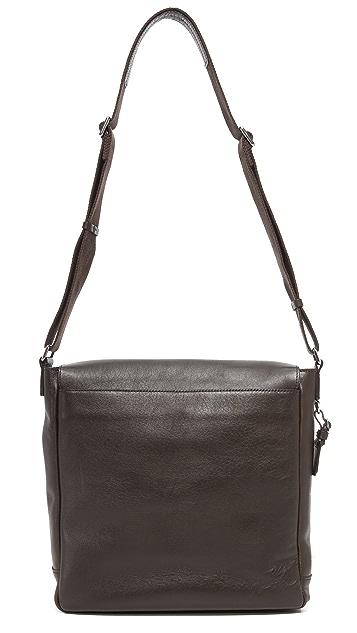 Shinola North / South Messenger Bag