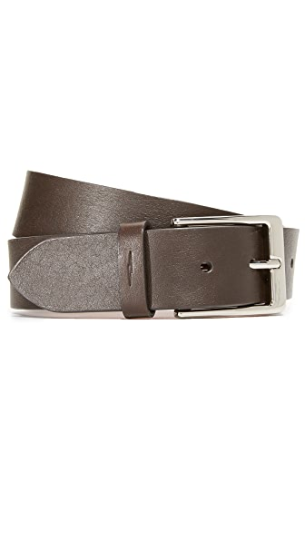 "Shinola The 1 1/2"" Lightning Bolt Keeper Belt"