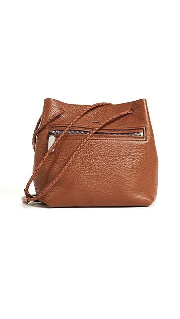 Shinola Mini Drawstring Cross Body Bag