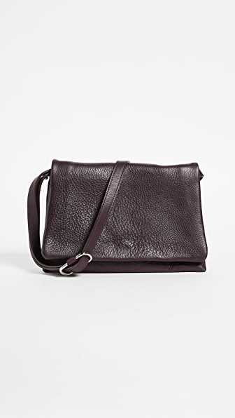 Shinola Rolled Flap Bag