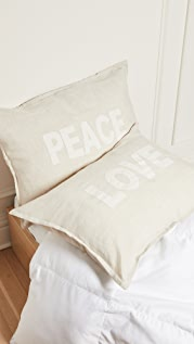 Shopbop @Home Pom Pom at Home: Love & Peace Pillow Set