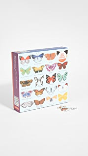 Shopbop @Home Butterflies of North America 500 Piece Puzzle