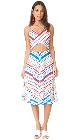 6 Shore Road Yacht Club Dress - Americana Stripe