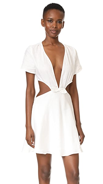 6 Shore Road Sand Castle Dress - Moonlight White