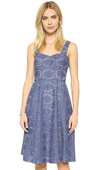 Shoshanna Reese Eyelet Dress