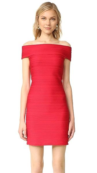 Shoshanna Off Shoulder Dress