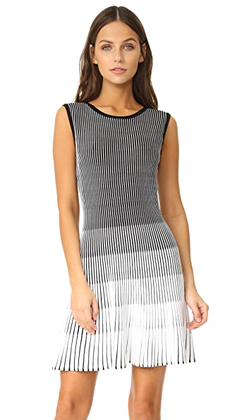 Shoshanna Laidley Dress - Jet/Optic