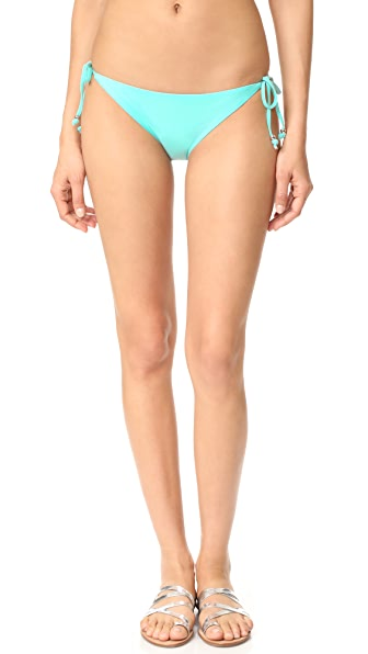Shoshanna Clean Triangle Bottoms In Seafoam