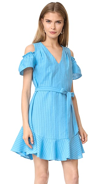 Shoshanna Lawther Dress - French Blue