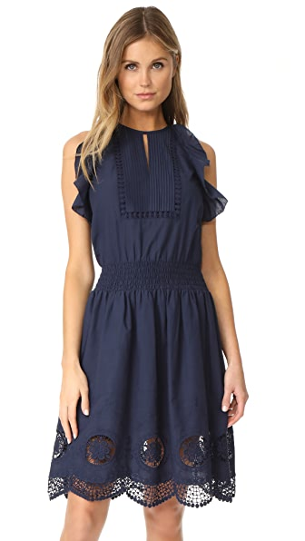 Shoshanna Alondra Dress - Navy